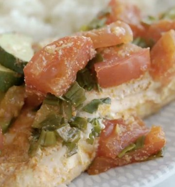 One & Done: Mediterranean Baked Salmon