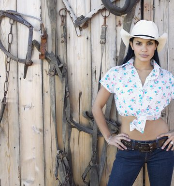 How to Dress Up Like a Cowgirl
