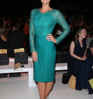 Accessorizing a Teal Green Dress
