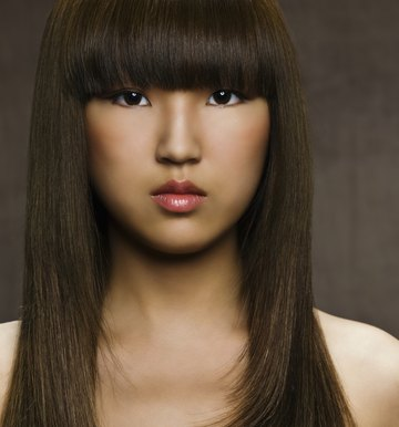 How to Fix Frizzy Bangs