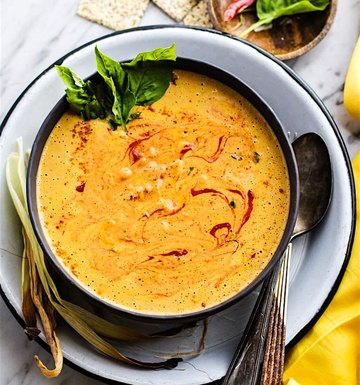 Healthy Creamy Soup Recipes That Are Low-Cal & Simple