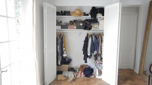 The Closet Accent Wall