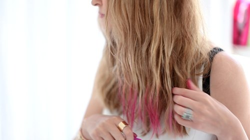 3 Ways To Chalk Tip Your Hair