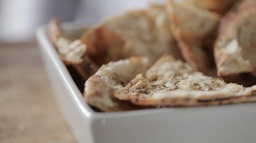 Rosemary & Honey Pita Chips