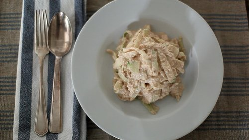 Raw Vegan Fettuccine Alfredo