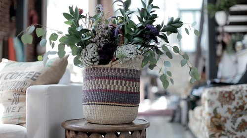 Wild Flower Basket Arrangements