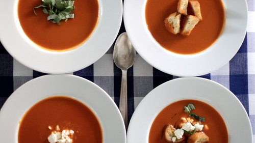 4 Ways To Dress Up Tomato Soup