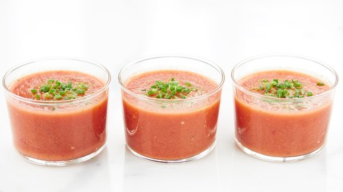 The Best Tomato Gazpacho