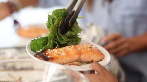The 8 Minute Salmon That's Perfect For A Week Night Dinner