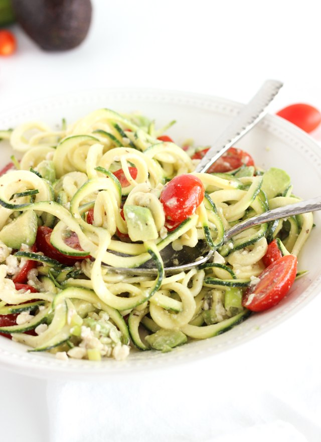 3 zoodle recipes for light spring salads