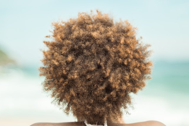 Trimming Natural Hair In Wet Curly State