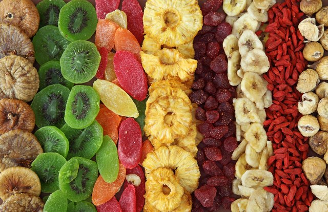 how to dry fruit in the microwave