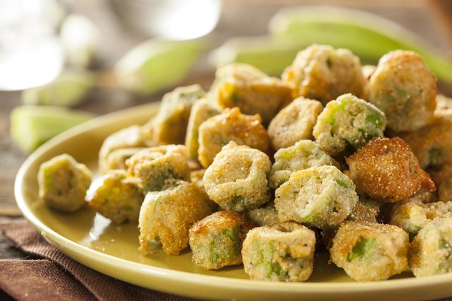 how to fry frozen okra