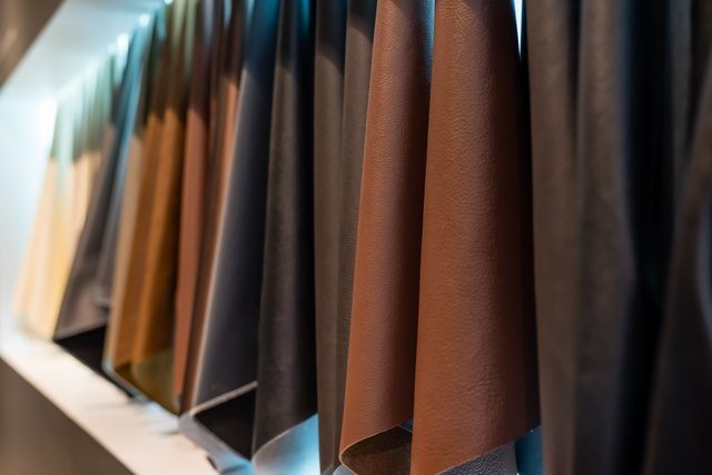 types and degrees of expensive leather