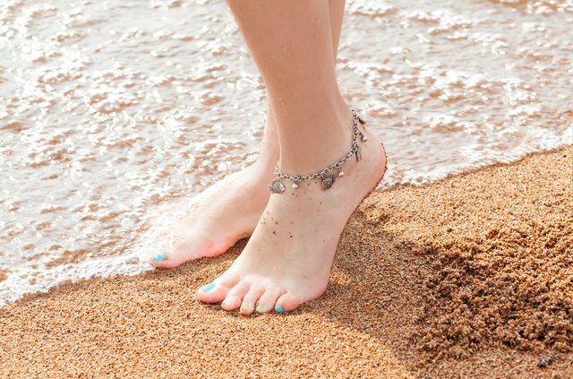 s little jewelry p anklets beach barefoot for womens women anklet trendy bells foot payal