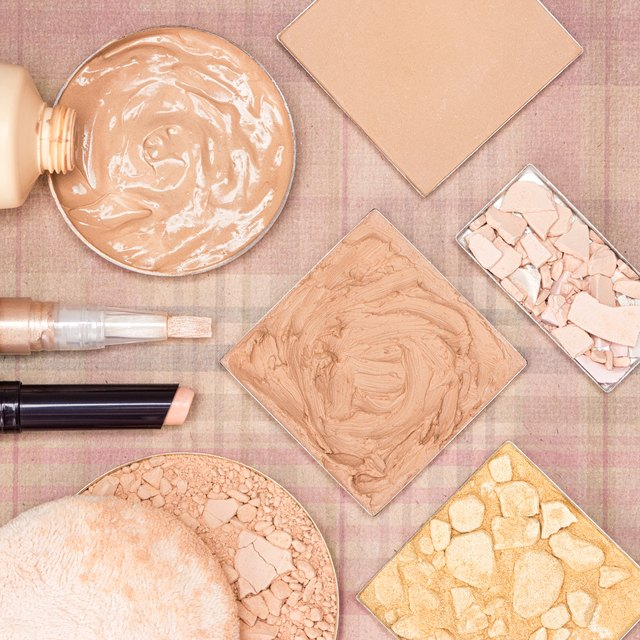 Make up products to even skin tone and complexion