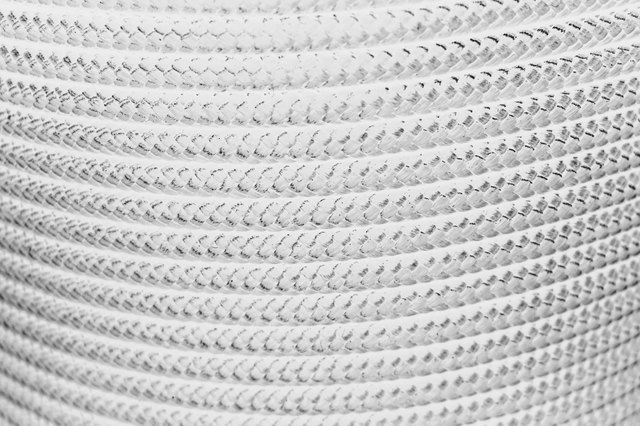 roll of nylon rope