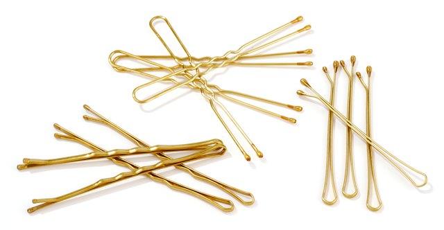 golden hairpins