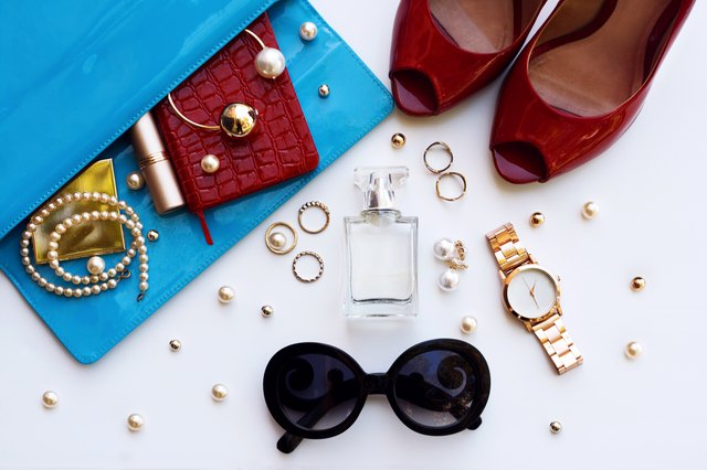 Essentials for modern young stylish woman.