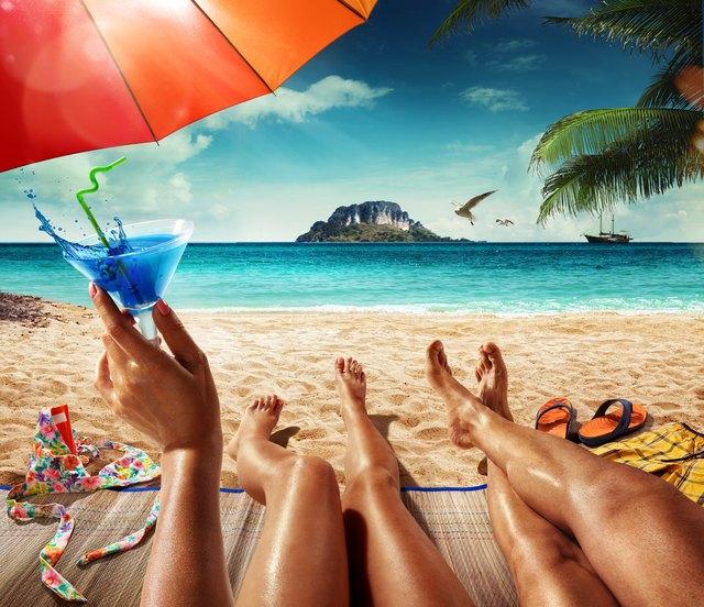 Vacation. Summer tropical beach