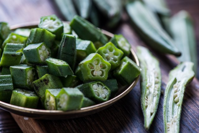 how to freeze okra