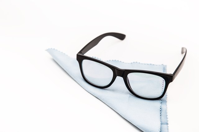 Eyeglasses with plastic frames