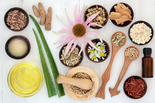 Herbal Skincare with Healing Ingredients