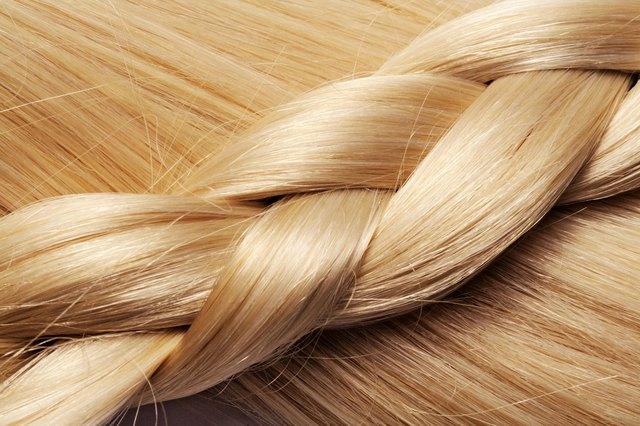 blond hair background
