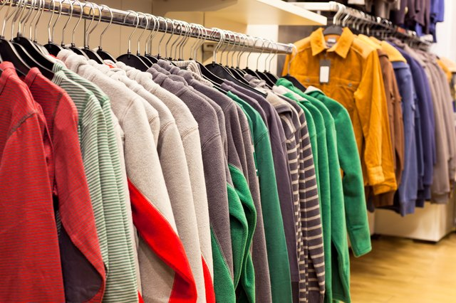 Fleece Clothing in Fashion Store