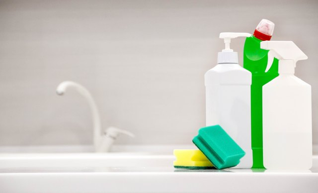 Cleaning products and bleach