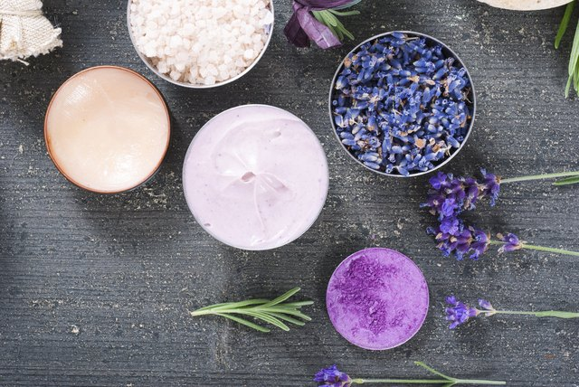 Cosmetics and lavender