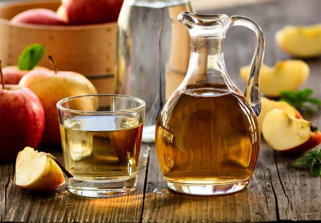 vinegar cures for a fatty liver