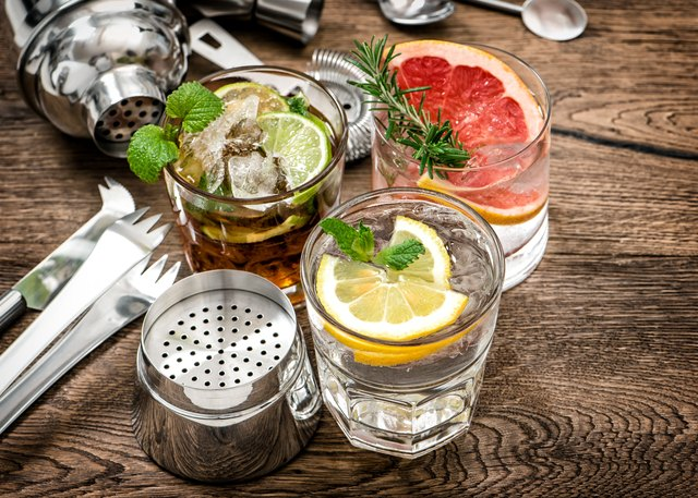 How To Mix Drinks Containing Seagrams Gin