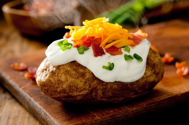 Hot Baked Potato