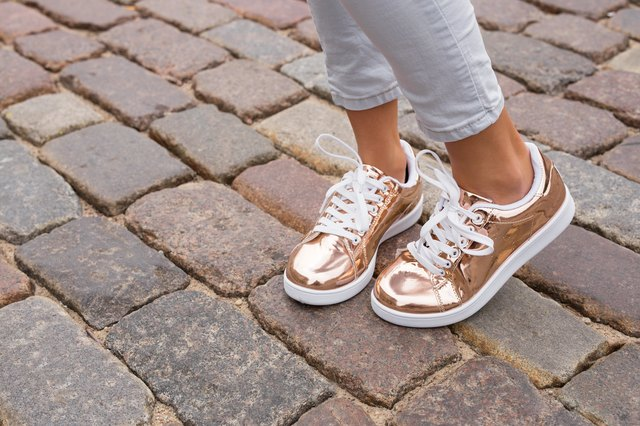 How to Fix Scuffed Metallic Shoes