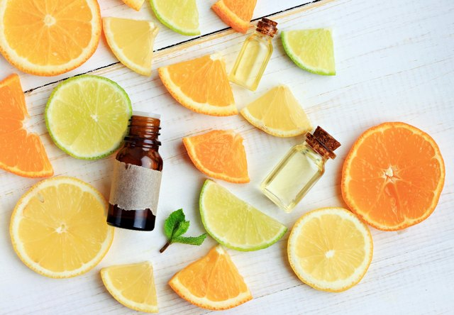 Citrus essential oil.