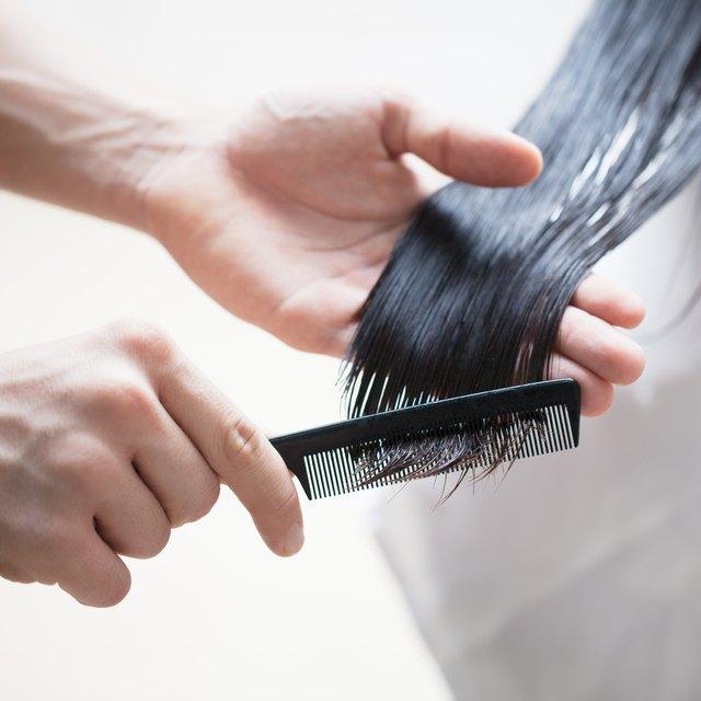 easy vegetable oil treatment for hair