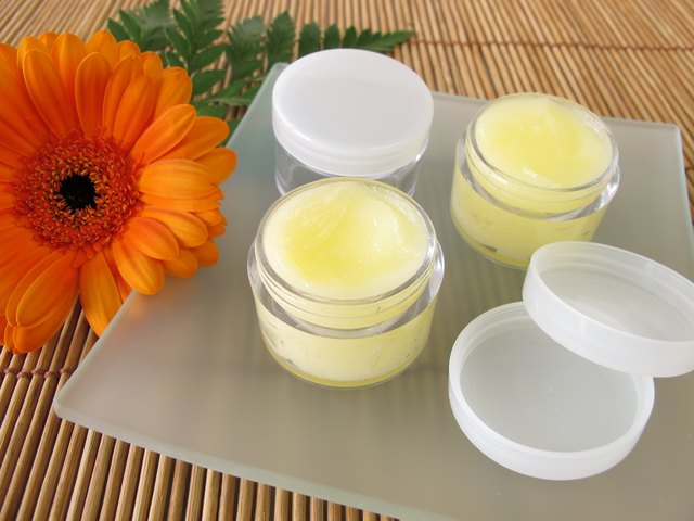 Lip balm with honey