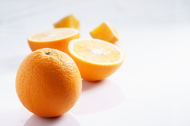citrus fruits slices. Oranges
