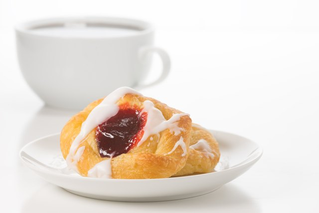 Raspberry Danish and Coffee