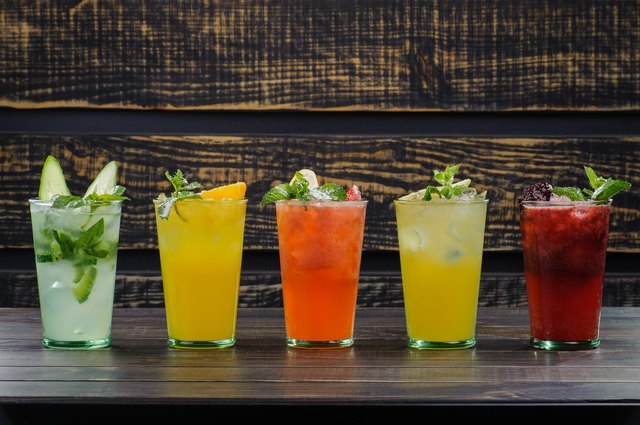 cold cocktails