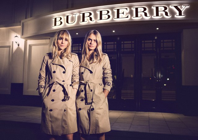 Burberry Brings London To Shanghai - Inside