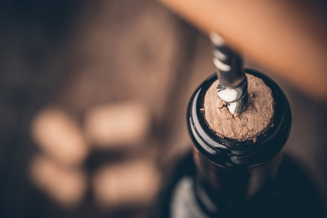 How To Get A Broken Cork Out Of A Wine Bottle