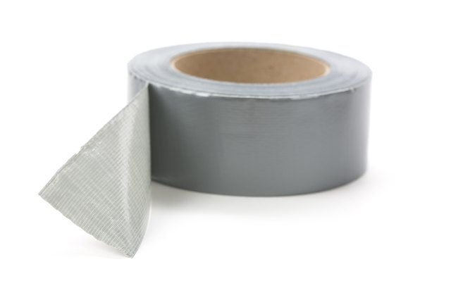 Multi-purpose duct tape in gray on a white background