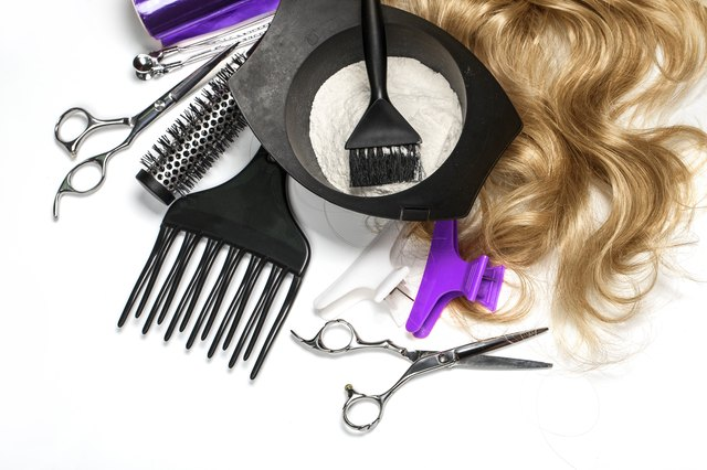 hairdresser Accessories for coloring hair
