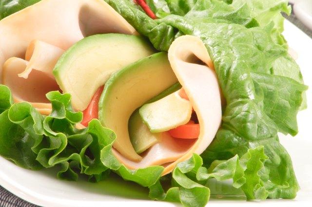 organic lettuce wrap