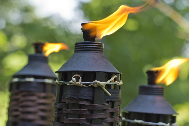 Exceptionnel Bamboo Citronella Torch. Credit: EzumeImages/iStock/GettyImages. How To Keep  Mosquitoes Away ...