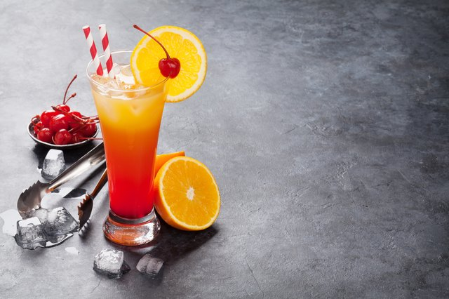 Malibu Hurricane cocktail