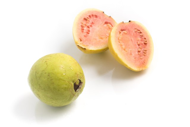 Wet Fresh Guava
