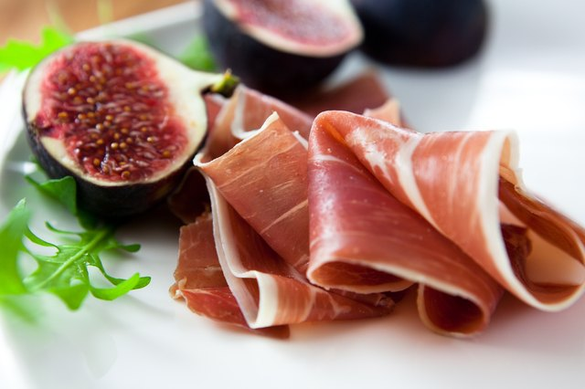 Prosciutto with fresh figs